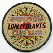 The Beatles - 'Sgt Peppers Lonely Hearts  Club Band' Woven Patch